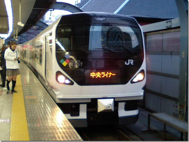 東京駅にて 2