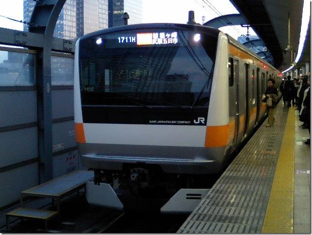東京駅にて 1